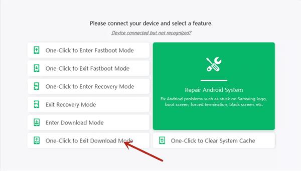 Samsung Stuck in Download Mode
