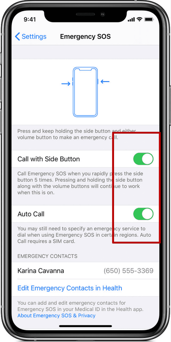 Remove Emergency Call from Lock Screen iPhone