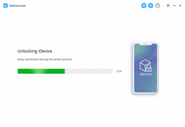 Confirm unlock iPhone passcode