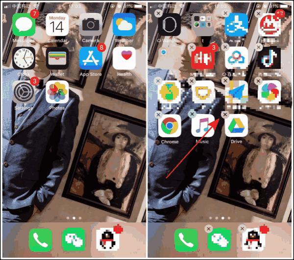Free up space on iPad