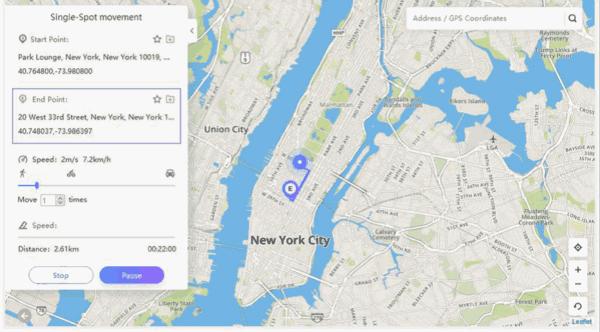 Fake GPS iOS