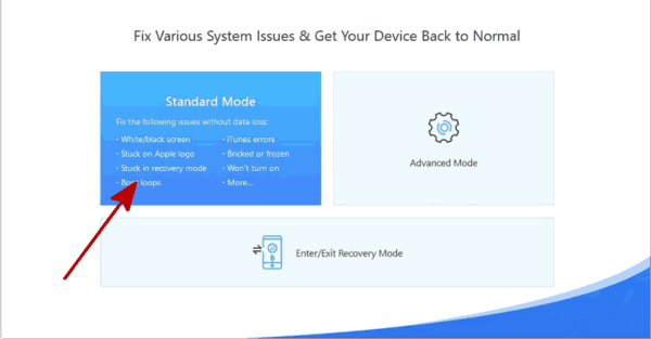 How to get iPad out of recovery mode