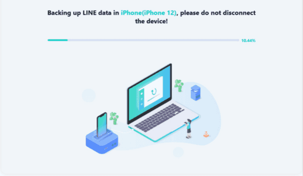 Transfer LINE Chat from iPhone to iPhone