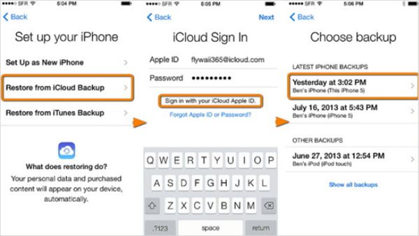 How to retrieve deleted call log iPhone