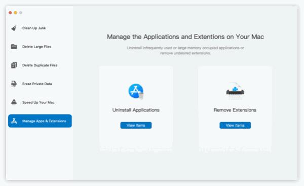 Manage APP on Mac