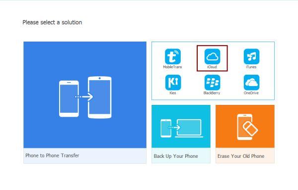 Transfer iCloud photos to iPhone