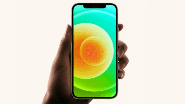 iPhone 12 green screen