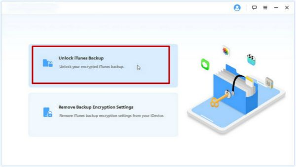Eelphone iTunes backup Unlocker