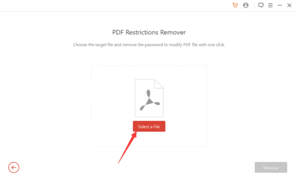 Unlock PDF for editing