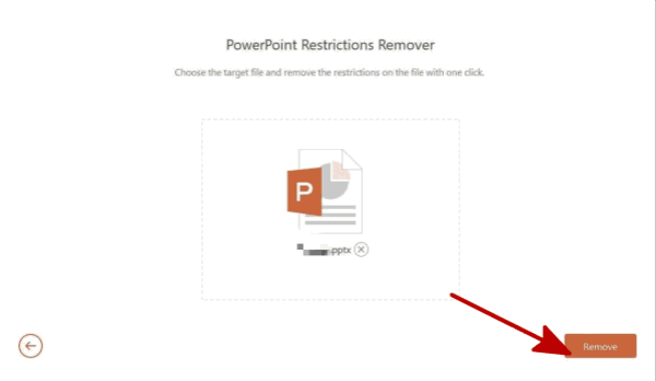remove password from powerpoint