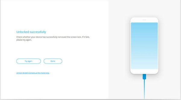 Removed Motorola screen lock