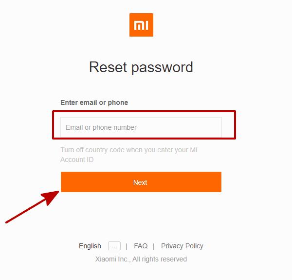 Xiaomi Unlock