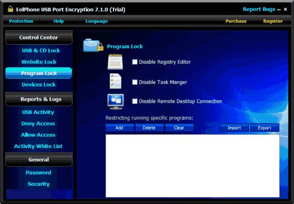 Program Lock