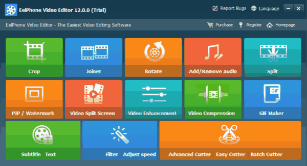 Eelphone Video Editor