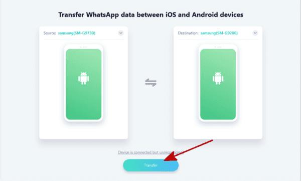 Whatsapp from Samsung to HUAWEI