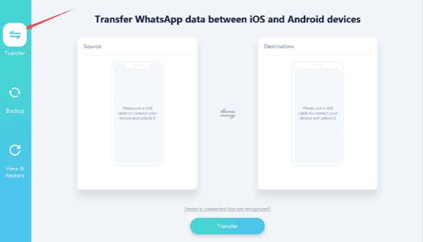 Whatsapp from iPhone to Android directly